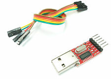 CONVERSOR USB RS232  DTR Y CTS 5V/3.3V SERIAL ADAPTER CP2102 FTDI232 ALTERNATIVE