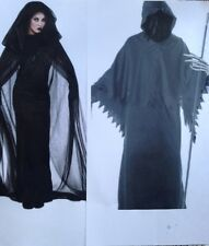 Couple Sexy GRIM REAPER HORROR HALLOWEEN Fancy Dress Costumes Outfits