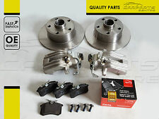 FOR SKODA SUPERB 3U4 01-08 REAR LEFT RIGHT APEC BRAKE DISCS PADS CALIPERS NEW