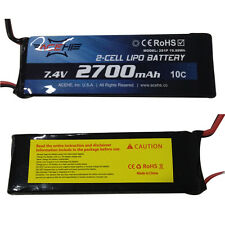 New 2700mAh 7.4V 2S 10C RC Battery With EC2 Plug For RC Hubsan H501S Quadcopter