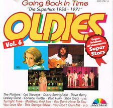 Going back in Time 6 (1956-1971) Oldies CD-Album 14 Tracks
