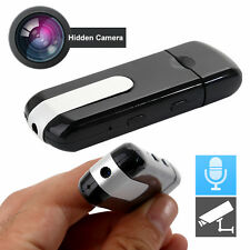 U8 HD Video Dvr USB Disk Hidden SPY CAM TELECAMERA Motion Detection DV RECORDER 32GB