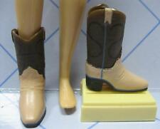 Barbie Sister modern SKIPPER Fashion Outfit SHOES for clothes~BROWN COWBOY BOOTS