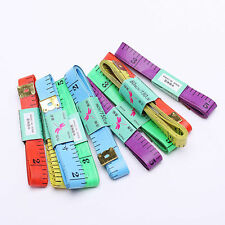 """2X Body Measuring Ruler Sewing Cloth Tailor Tape Measure Soft Flat 60"""" /150cm IC"""