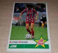 CARD SCORE CREMONESE CHIORRI CALCIO FOOTBALL SOCCER ALBUM