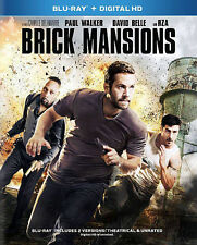 Brick Mansions with Paul Walker    (Blu-ray Disc, 2014)
