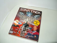 STAR TREK FEDERATION GIFT PAK pc big box new factory sealed rare game