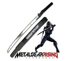 Metal Gear Rising Blade Sword Katana + Wooden Sheath Video Game cosplay prop