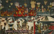 Vintage Postcard - Chen's Singapore Chinese Restaurant - New York City