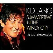 K. D. LANG - SUMMERTIME IN THE WINDY CITY LOST TRANSMISSION - 2011 LEFTFIELD CD