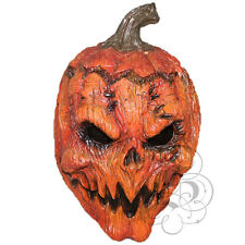 Halloween Evil Pumpkin Overhead Latex Horror Movie Dress Costume Party Masks