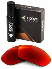Polarized IKON Replacement Lenses For Oakley X-Metal Juliet +Red Mirror