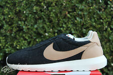NIKE ROSHE LD - 1000 SZ 14 WOOL BLACK VACHETTA TAN LEATHER 844266 001