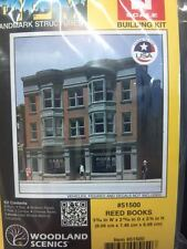 DPM Reed Books Store N Scale Building Kit #51500 Model Trains - New