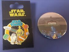 Star Tours  C-3PO & R2-D2 pin and Star Wars Galactic Nights  Celebration 2017