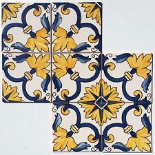 Hand Painted Ceramic Wall Tiles - From Sintra Portugal (price is for one tile)