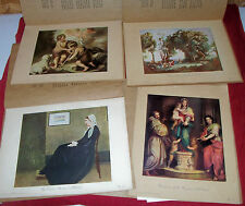 4 Sets Instructor Picture Study Series Mary E. Owen FA Publishing Old Paintings