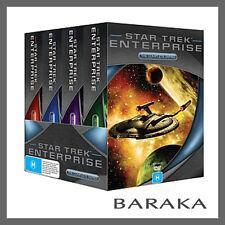 Star Trek Enterprise Full Journey Complete Seasons Series 1 2 3 4 DVD Box Set R4