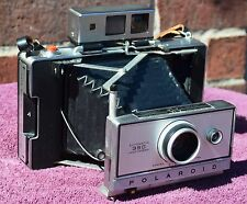Polaroid 350 Camera w/ #193 ColdClip New A24PX Batteries Film TESTED Timer Works