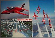 Dennis Productions M.053494G The Red Arrows Postcard 21.5cm x 15cm