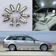 Error Free White Light Interior LED Package 16x for BMW 3 Series E46 Touring L6