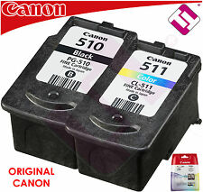 PACK CARTUCHO TINTA BLACK COLOR CANON ORIGINAL PG 510 CL 511 PIXMA MX 420