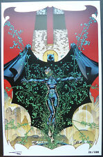"JIM LEE BATMAN #611 ""HUSH"" SDCC LIMITED EDITION ART PRINT  XX/100"
