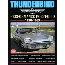 Thunderbird Performance Portfolio 1958-1963 book paper