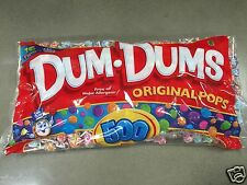 SPANGLER ~ DUM DUM DUMS POPS LOLLIPOPS~500 ct. Big Bag (Sales Tax Only for MN)