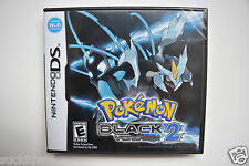 NEW Pokémon: Black Version 2 (Nintendo DS, 2012) AUTHENTIC SEALED Pokemon