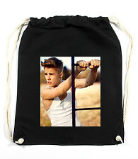 Sexy Justin Gymsack Black Turnbeutel Bieber Selena Miley Gomez Cyrus Styles Harr