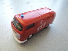 Schuco VW T2 Feuerwehr 112 1/87 in Faltschachtel aus Sammlung (9)