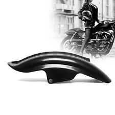 Motorcycle Black Superior Rear Mudguard Fender Accessory For Bobber Racer Harley