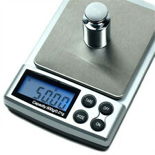 Mini 500g x 0.01g Digital Mini Pocket Scale Jewelry Weight Balance Scale Tool