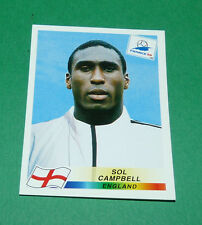 N°468 SOL CAMPBELL ENGLAND PANINI FOOTBALL FRANCE 98 1998 COUPE MONDE WM