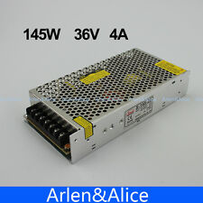 145W 36V 4A Single Output Switching power supply for LED Strip light AC to DC