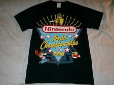 Nintendo World Championships 1990 Reproduction 2002 Black Tshirt Mens Small used