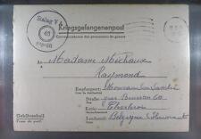 Camp Stalag VA Ludwigsburg 1941 POW Prisoner Belgium Kriegsgefangenenpost L46l