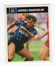 figurina CAMPIONI E CAMPIONATO 90/91 1990/91 numero 148 INTER MANDORLIN