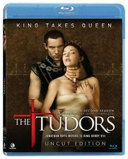 The Tudors - The Complete Season 2 (Blu-ray 3 disc) Uncut Edition NEW
