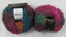 25% OFF! 50g Noro HANABATAKE Gorgeous Wool Silk Mohair Luxury Yarn Colorway #7