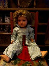 "Antique 1920s Unica Courtrai Belgium Composition Doll 18"" Bisque Head"