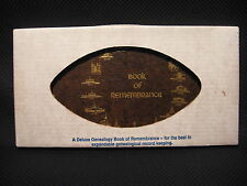 Vintage LDS Mormon Book Of Remembrance Family Genealogical Record Book NEW!
