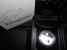 "2016 $1 Kangaroo At Sunset Silver Proof Coin Very Low Mintage "" NUMBERED """