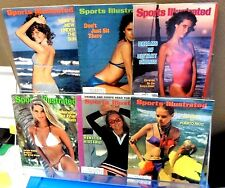 Sports Illustrated Magazine SWIMSUIT Issues Lot (6) 69 70 73 74 80 82 BRINKLEY