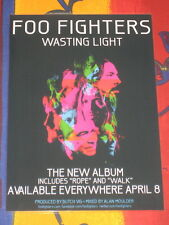 FOO FIGHTERS - WASTING LIGHT -  LAMINATED PROMO POSTER
