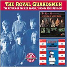 The Return of the Red Baron/Snoopy for President-The Royal Guardsmen-NEW cd