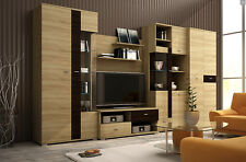 Living Room Furniture Set BOBBY , TV  LED  Table , Modern cabinet - 370 cm wide
