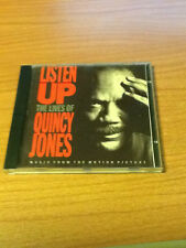 CD OST QUINCY JONES LISTEN UP THE LIVES OF QUINCY JONES 7599-263222 GERMANY 1990