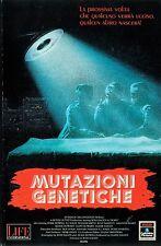 MUTAZIONI GENETICHE (1988) VHS ORIGINALE 1ª EDIZIONE INEDITA IN HOME VIDEO